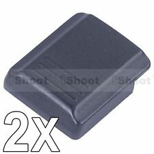 2x Cover Slitta Flash Hot Shoe coperchio FA-SHC1AM/B per Sony Minolta Camera