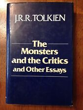 Tolkien, The Monsters and the Critics and Other Essays, UK London 1983
