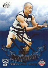 ✺Signed✺ 2009 GEELONG CATS AFL Premiers Card TOM HARLEY
