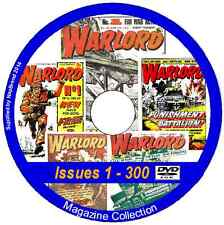 Warlord - Issues 1 - 627 & 12 Specials on 2 DVDs Action Comic + viewing software