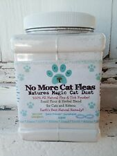 Natural Flea and Tick Control and Treatment Powder for Cats And Kittens 14 oz