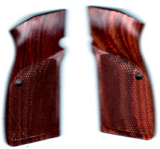 FN Browning Hi-Power Rosewood Grips checkered