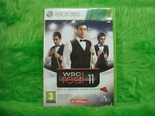 xbox 360 WSC REAL 11 World Snooker Championship 2011 Microsoft PAL UK Version
