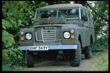 Metal Sign British Uk Cars 354069 Land Rover Series Iii Army Pick Up 1983 A4 12X