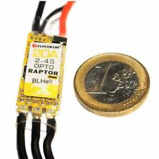 Flycolor F390 MCU Raptor BLHeli Mini 20A 2-4S OPTO Brushless ESC for Multicopter