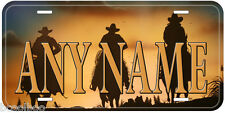 Cowboy Any Name Personalized Novelty Car Aluminum Auto License Plate