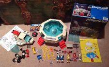Playmobil Playmospace 3536 estación espacial 100% completo 1980 W Box & 3534 lanzadera