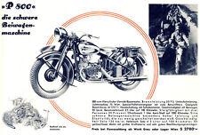 Puch -  Motorrad-Programm - Prospekt   - 1937  - Deutsch  - nl-Versandhandel