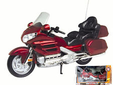 MOTOR MAX 1:16 HONDA GOLDWING DIECAST MOTORCYCLE 1:6 SCALE 76264RD