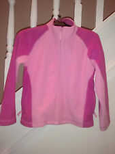Girls pink fleece/jacket/coat - Glacier Point/Matalan - age 10-11 years
