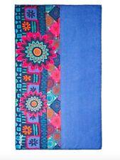 Desigual nouvelle saison! foulard châle magic mixto bleu multi rrp £ 44 free p&p!