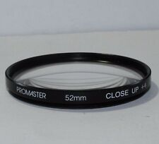 Lens Filter: Promaster 52mm Close Up +4 Macro Shipping is free worldwide