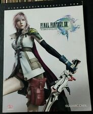Final Fantasy XIII The Complete Official Strategy Guide