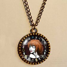 Creepypasta CREEPY PASTA TICCI TOBY Necklace Clockwork Your Time Is Up JEFF