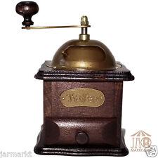 Madera Molino de café - manual Molinillo - en rústico marrón