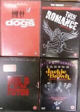 TARANTINO Reservoir Dogs*True Romance*Pulp Fiction*Jackie Brown Cult DVD *EXC*