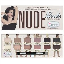 The Balm Nude Dude Palette Eyeshadow and Brush! 100% Authentics