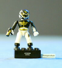 Mega Bloks Power Rangers MegaForce Series 2 Battle Damaged Black Ranger Common