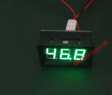 0-50A DC Digital display GREEN LED Panel Ammeter amp Ampere Meter 12V / 24V