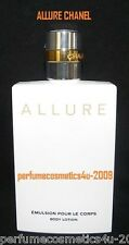 ALLURE BY CHANEL PERFUMED BODY LOTION FOR WOMEN 6.8 OZ / 200 ML NEW