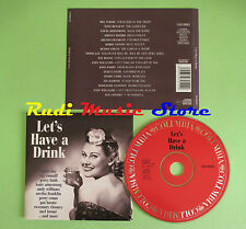 CD LET'S HAVE A DRINK compilation 2000 DORIS DAY ARETHA FRANKLIN PAT BOONE (C23)
