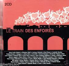 CD audio../....LE TRAIN DES ENFOIRES......2005..../...2 CD...