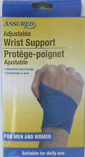 WRIST SUPPORT ADJUSTABLE Elastic Velcro Unisex  1 Size-Fits-All