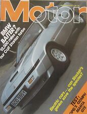 Motor magazine 6/8/1983 featuring Opel Manta road test, Colt Starion Turbo