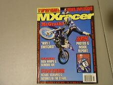 FALL 1997 MX RACER MAGAZINE,DOWD UNPLUGGED,MCGRATH SWITCHED,RUSH PICTURES,SCABS,