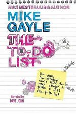 Mike Gayle The To-Do List, Audiobook, CD