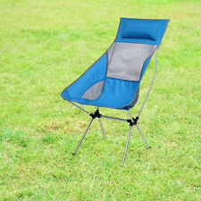 Portable Folding Aluminum Stool Rocking Chair for Camping Picnic Beach + Bag New