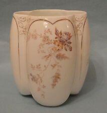 ROSENTHAL ART NOUVEAU Antique Porcelain Purple ROSE GARLAND LOUIS PHILIPP VASE