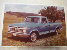 1974 FORD F100 PICKUP TRUCK  11 X 17  PHOTO  PICTURE