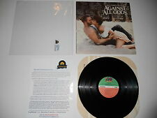 Against All Odds Soundtrack Phil Collins 1st 1984 EXC Press ULTRASONIC CLEAN