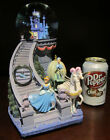 RARE Disney Store Princess Cinderella Castle Glass Slipper Snowglobe Music Box
