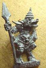 C27 ''Bolbone'' Beastman Spear Champion. Citadel Oop Oldhammer Realm of Chaos