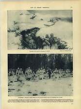 WW1 Russian Trenches Scouts In Poland Winter Camouflage