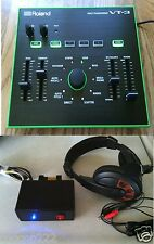 PROFESSIONAL ROLAND  VT-3 VOICE CHANGER UNIT + A TELEPHONE INTERFACE + A HEADSET