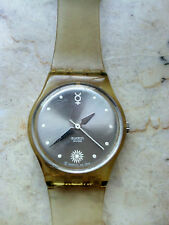 "orologio swatch STANDARD LADIES modello ""FATAL THREAD LARGE""LK182A anno 2000"