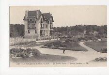 Le Touquet Paris Plage Jardin Public France Vintage LL Postcard 321a