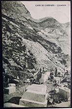 1925 - Cave di Carrara - Lizzatura