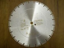 "5 -14"" Diamond Blades - Concrete, Brick - Great for Husqvarna Partner cutoff saw"
