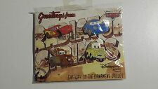 Disney Disneyland Paris  Booster Set 4 Pins DLRP Pin Trading Cars Mc Queen NEU
