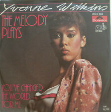 """7"""" 1981 RARE IN MINT- ! YVONNE WILKINS The Melody Plays"""