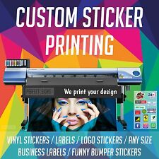 Sticker Printing, Custom Vinyl Lables,Car,Business Logo, Self Adhesives 1000X500