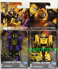 Transformers Generations Titans Return Legends Bumblebee Kickback Set