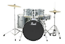 Pearl Roadshow 5 Piece Drum Set With Hardware & Cymbals - Charcoal Metallic - RS