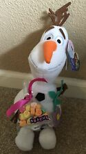 """Olaf """"Flowers & Candy"""" Small Plush For Valentine's Day NWT"""