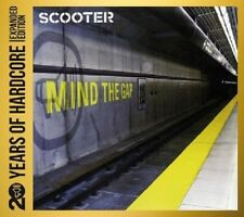 SCOOTER - 20 YEARS OF HARDCORE: MIND THE GAP 2 CD DANCE/POP/DISCO/TECHNO NEU