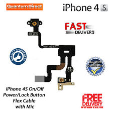 Replacement On/Off Power/Lock/Button/Switch Flex Cable Repair for iPhone 4S